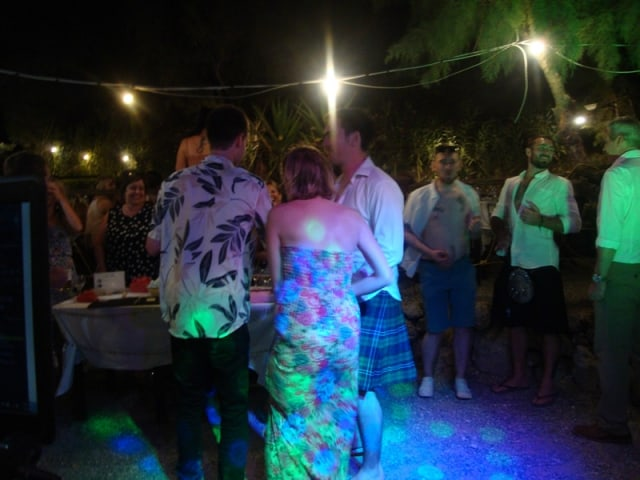 Mr & Mrs Laurie - Skala Taverna