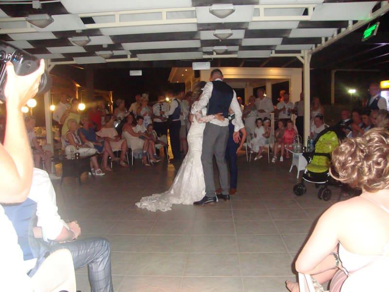 Mr & Mrs Hamilton - Tsambikos Taverna