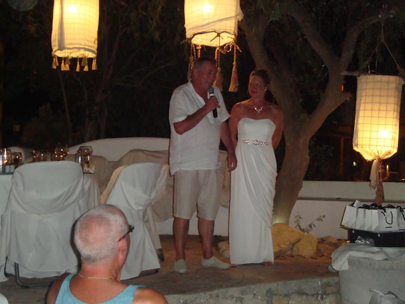 Mr & Mrs Isaac Gorgona, Faliraki