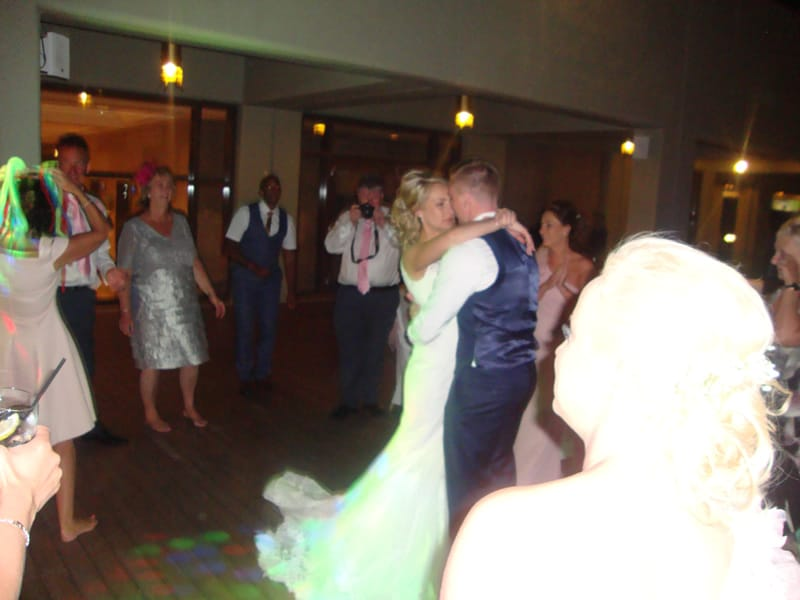 Mr & Mrs Tinsley - Sheraton Hotel