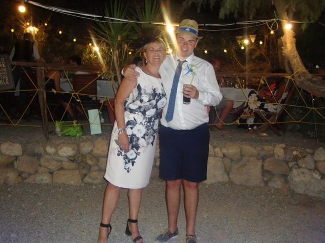 Mr & Mrs Daubney - Skala taverna