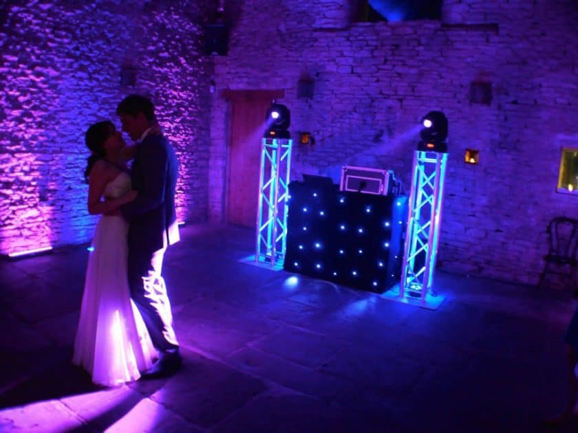 pictures from wedding reception discos