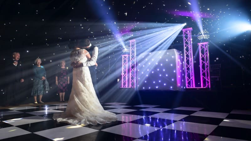 Wedding DJ disco reception party