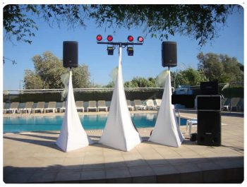 high-quality sound and lighting equipment