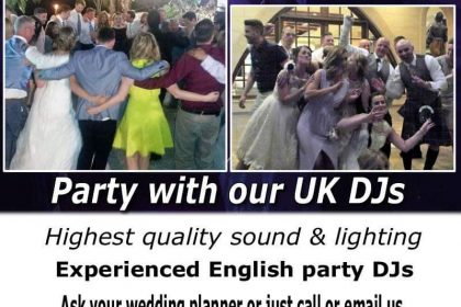 wedding entertainment DJ