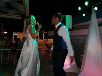 Add a Karaoke to your wedding disco package